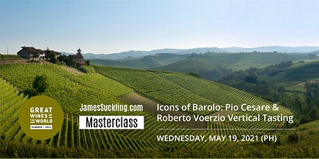 Great Wines of the World Masterclass: Icons of Barolo Vertical Tasting tickets