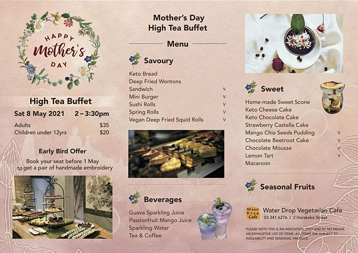 Mother's Day Brunch & High Tea Buffet 2021 image