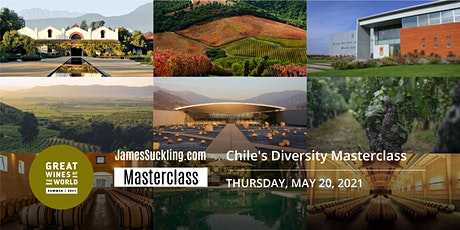 Great Wines of the World Masterclass: Chile's Diversity tickets