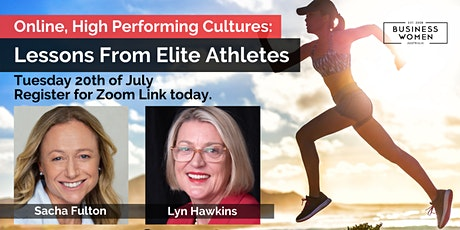 Online, High Performing Cultures: Lessons From Elite Athletes tickets