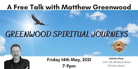 A free talk with Matthew Greenwood tickets