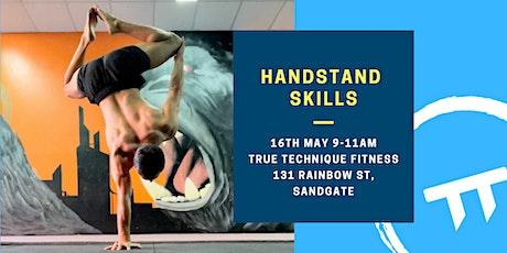 Handstand Workshop Ft. Sam tickets