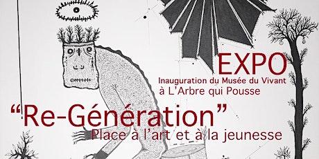 Re-Génération : Place à l'art et à la jeunesse - Musée du Vivant tickets
