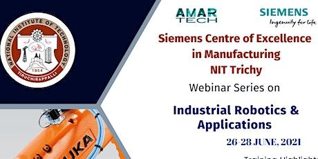 Industrial Robotics Applications tickets