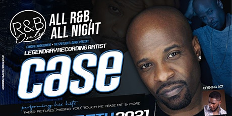 """R&B Only Staring """"Case"""" tickets"""