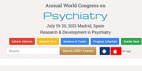 Annual World Congress on  Psychiatry entradas