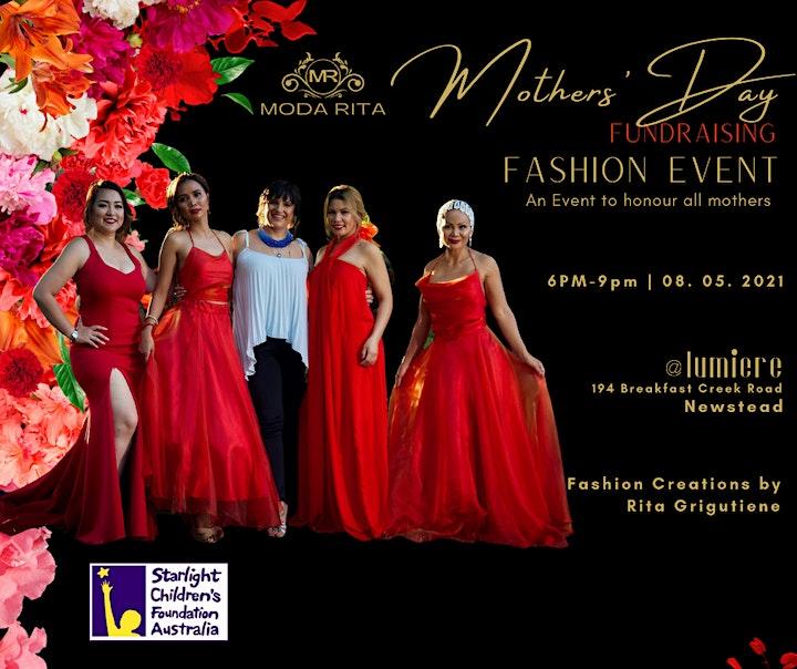 MODARITA Mothers' Day Fundraising Fashion Event image