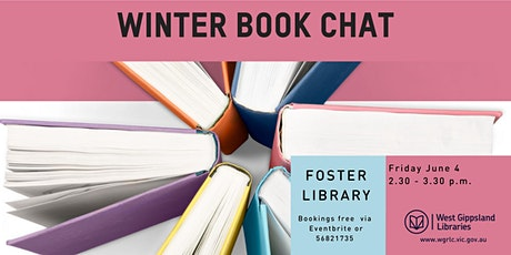 Winter Book Chat at Foster Library tickets