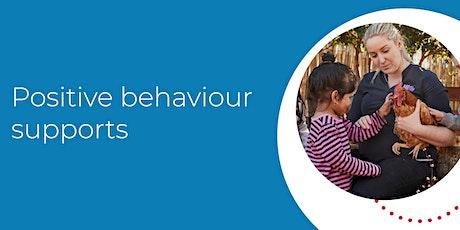 Positive behaviour supports billets