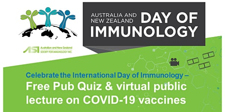 Day of Immunology - Auckland Pub Quiz & COVID-19 Lecture tickets