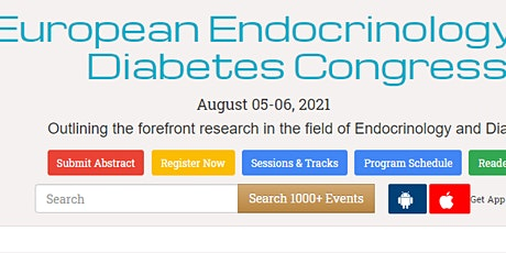 European Endocrinology and Diabetes Congress tickets