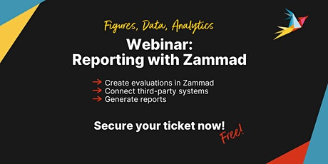 Free Webinar: Reporting with Zammad (English) tickets