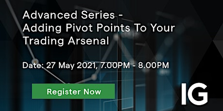 Advanced Series - Adding Pivot Points To Your Trading Arsenal tickets