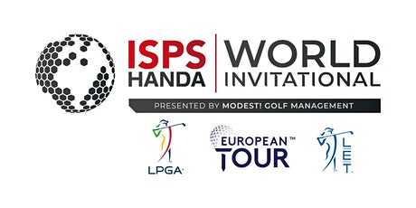 The ISPS HANDA World Invitational presented by Modest! Golf tickets