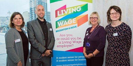 Networking with the Brighton & Hove Living Wage employers (virtual) tickets