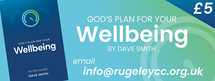 God's Plan for Your Wellbeing image