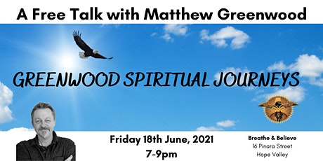 A free talk with Matthew Greenwood tickets