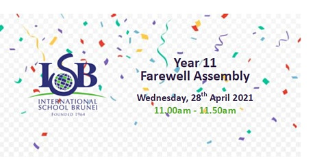 Year 11 Farewell Assembly tickets