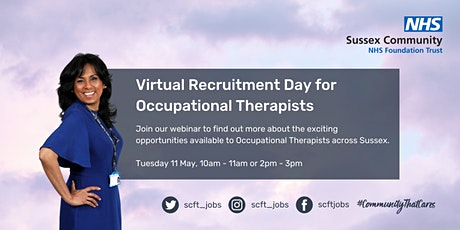 SCFT Responsive Services Occupational Therapist Virtual Recruitment  Event tickets