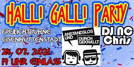 Halli-Galli-Party in Eisenhüttenstadt Tickets