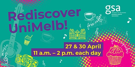 Rediscover Unimelb with GSA Week 8  Day 2 tickets