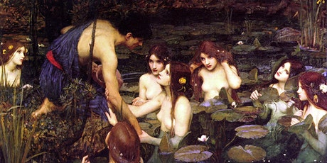 Here Comes Trouble:  Nymphs and Satyrs Online Art Lecture Tickets