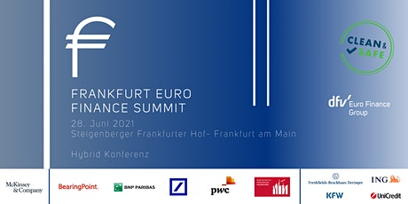 Frankfurt Euro Finance Summit 2021 - Hybrid Konferenz billets