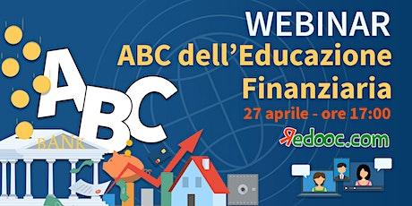 ABC dell'educazione finanziaria biglietti