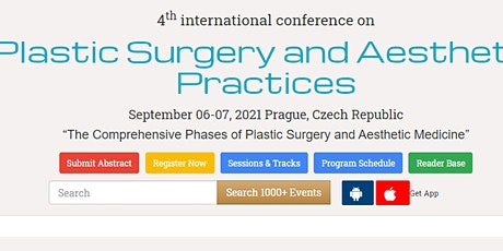 4th international conference on  Plastic Surgery and Aesthetic Practices tickets