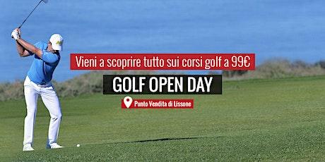 MAXI SPORT | Golf Open Day Lissone 5 giugno 2021 biglietti