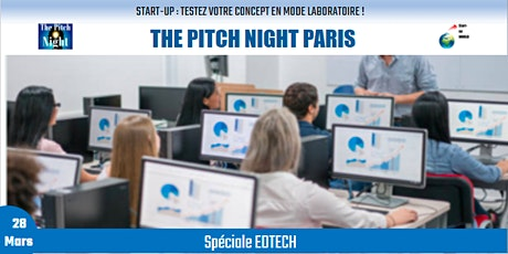 "Pitch Night Paris spécial ""EDTECH "" tickets"