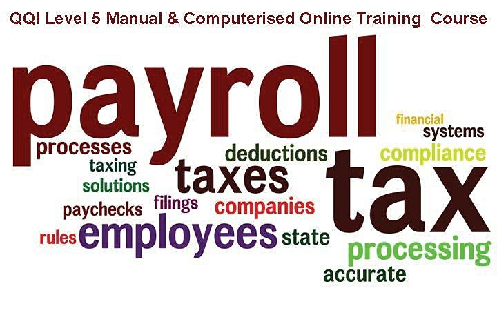 Manual & Computerised Payroll Award QQI Level 5 image