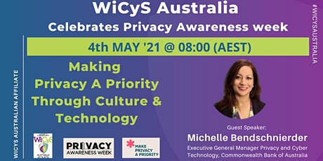 Make Privacy a Priority Through Culture & Technology tickets