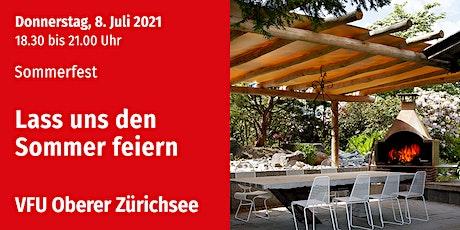 Flower Power - Sommerfest, Oberer Zürichsee, 8.07.2021 Tickets