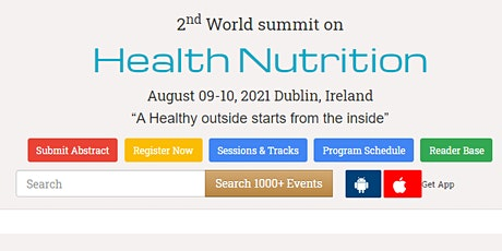 2nd World summit on  Health Nutrition tickets