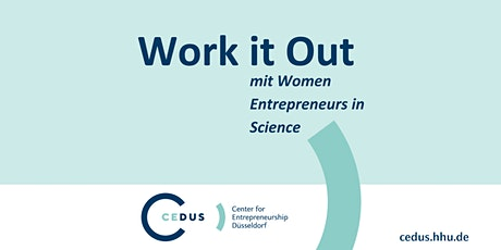 CEDUS x Women Entrepreneurs in Science: Your Purpose Tickets