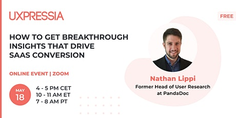 How to Get Breakthrough Insights That Drive SaaS Conversion tickets