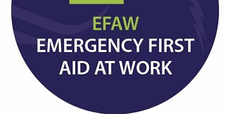 Emergency First Aid at Work (at a Trident Approved Training Centre) tickets