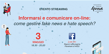 Informarsi e comunicare on-line: come gestire fake news e hate speech? biglietti