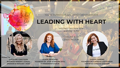 Leading with Heart - May LWYD Collective Business Event tickets