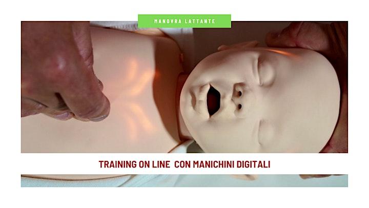 Immagine Corso on line  Manovre di Disostruzione Pediatrica