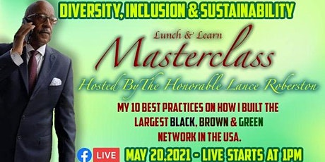 Lunch & Learn MASTERCLASS  - Diversity, Inclusion, & Sustainability by NBLC tickets