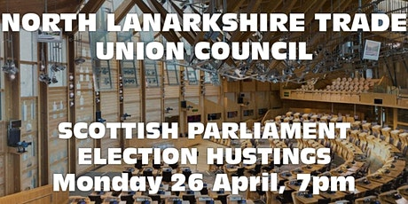 Scottish Parliament Election Hustings tickets