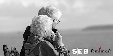 Aktieklubb Tema:  Jämställda pensioner med SEB (Nivå: Medel/Avancerad) biljetter