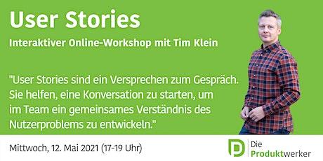 User Stories - interaktives Live-Event Tickets