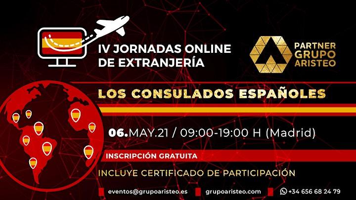 Imagen de IV Jornadas Online de Extranjería - Consulados españoles