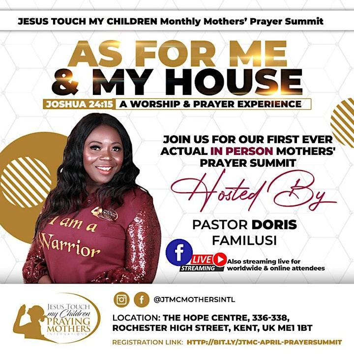 JTMC  Mothers' Prayer Summit - April 2021 image