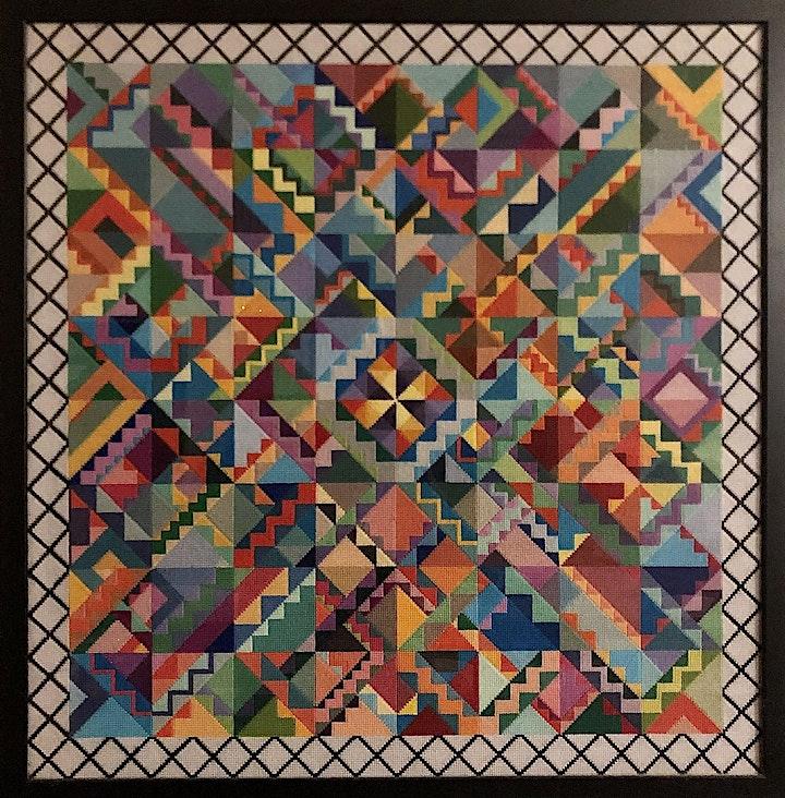 LightNight 2021 - William Nicolas Crosland - Tapestry Exhibition image