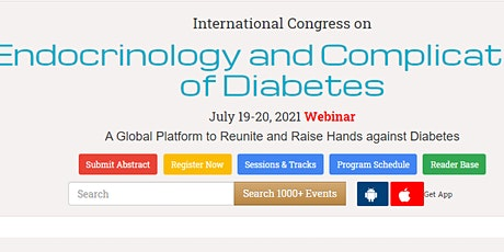 International Congress on  Endocrinology and Complications of Diabetes tickets