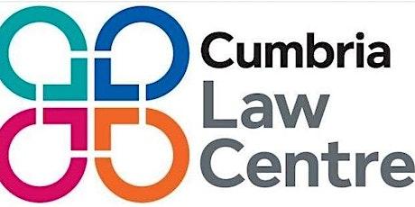 Get into volunteering with Cumbria Law Centre tickets